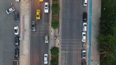 City Night Light Traffic