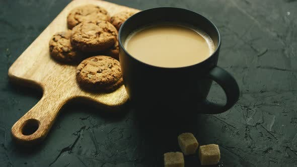 Thumbnail for Cup of Coffee with Cookies