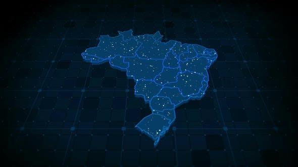 Thumbnail for Brazil Map Hd