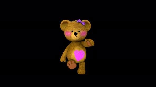 Thumbnail for 4K Teddy Girl