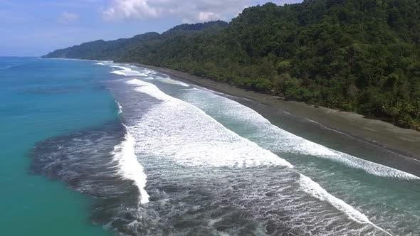 Virgin Unspoiled Caribbean Tropical Corcovado Beach