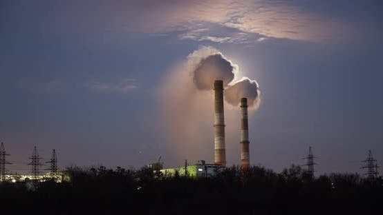 Thumbnail for Emissions Of Smoke From Pipes