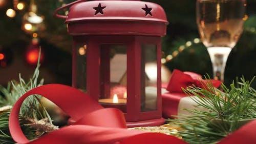 Weihnachtsgeschenk Weihnachts-Deko Silvesterfeier