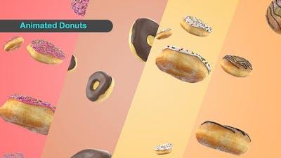 Falling Donut background