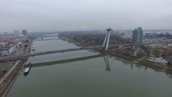 Thumbnail for UFO Bridge aerial view