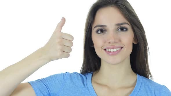 Cover Image for Thumbs Up By Woman