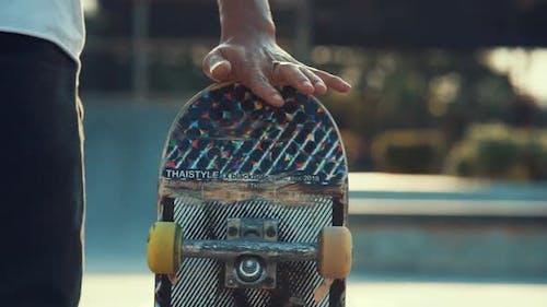 Spinning Skateboard