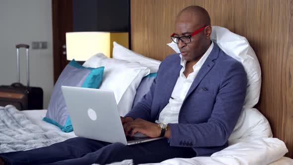 Thumbnail for Businessman in Hotel Room