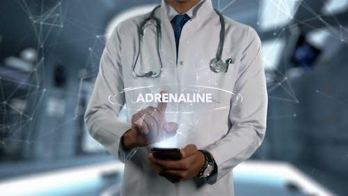 Adrenaline Male Doctor Hologram Medicine Ingrident