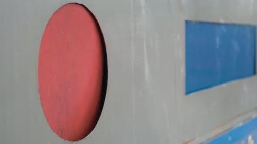 Unrecognizable Person Throws Plastic Trash Into Special Container