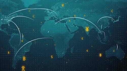 Währung Connect Welt