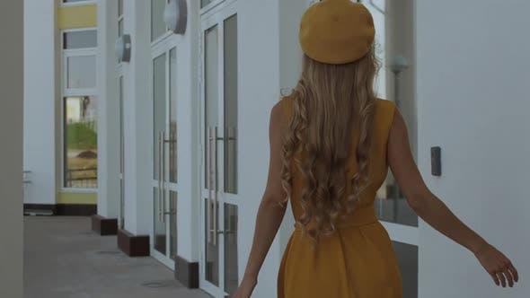 Thumbnail for Confident Stylish Woman Walking on Street