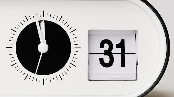 Five Minutes To Twelve, Flip Clock Time Lapse