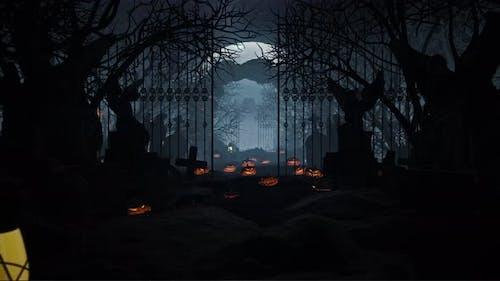 Halloween In Gravestone 02 4K