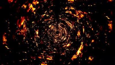 Fire Whirl Loop 4K