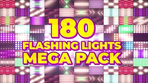 180 blinkende Lichter Mega Pack