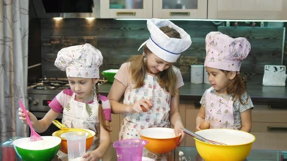 Thumbnail for Girls cooking together