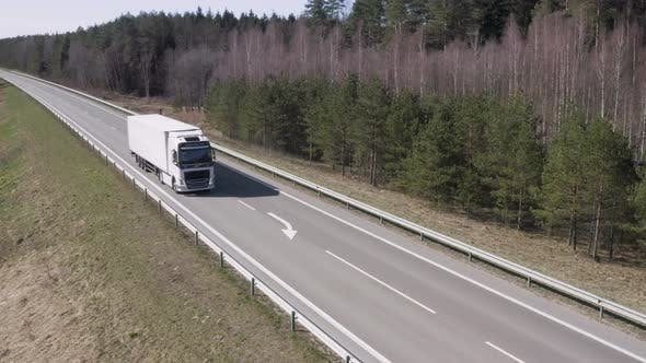 Thumbnail for Truck On Highway