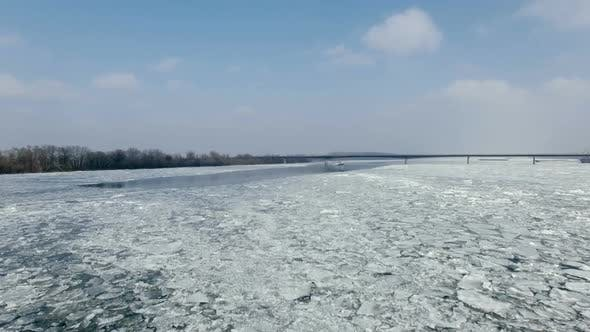 Thumbnail for Aerial Ship and Frozen Lake