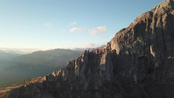 Thumbnail for Sunrise at Sass De Putia, Peitlerkofel. Passo Delle Erbe. Dolomites