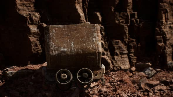 Thumbnail for Abandoned Gold Mine Trolley Used To Cart Ore During the Gold Rush