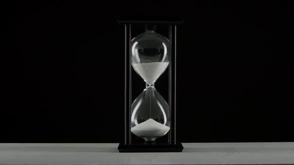 Thumbnail for Black Hourglass. White Sand. Black