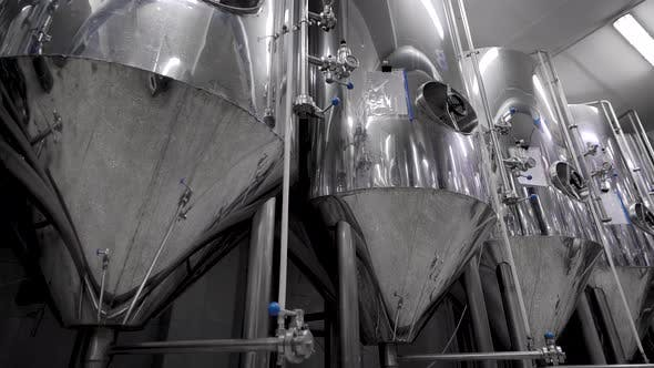 Thumbnail for Slow Motion of Containers in a Brewery