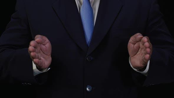 Thumbnail for Businessman Sideways Reveal