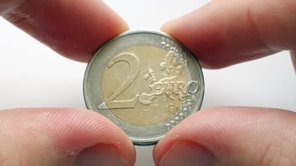 Cover Image for 2 Euro Coin