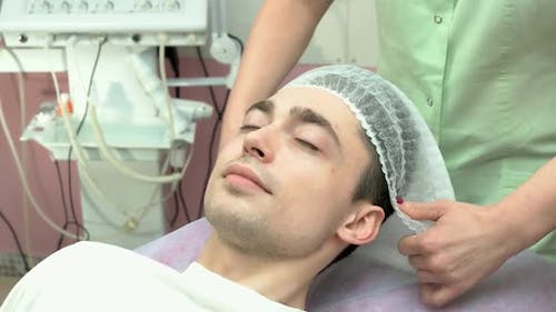 Young Man in the Hospital