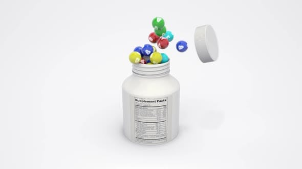 Compatibility of Vitamins and Supplements Complex