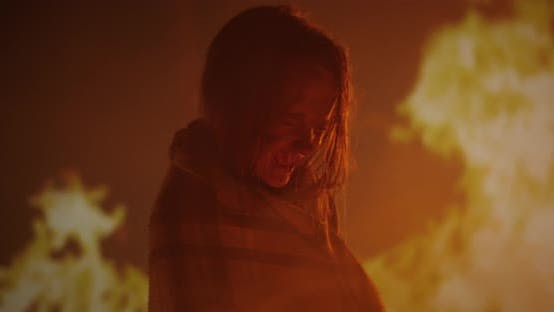 Thumbnail for Girl Trapped in Fire Crying