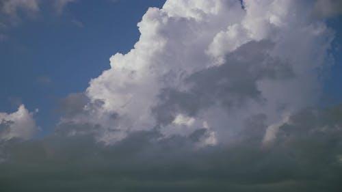 Cirrus Clouds in a Blue Sky