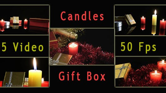 Thumbnail for 5 Video Candles and Gift Boxes