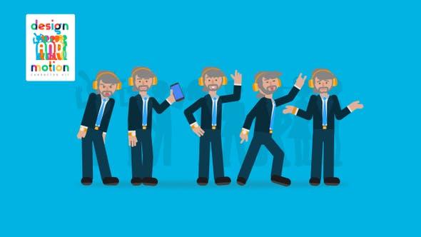 Thumbnail for D&M Charakter-Set: Executive Man