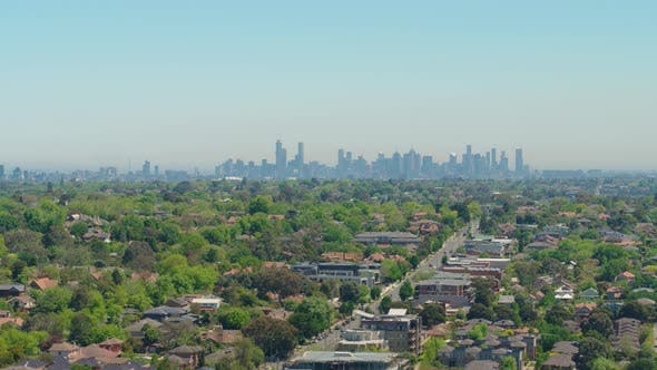 Thumbnail for Suburb View of Melbourne City