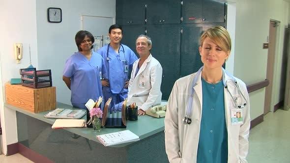 Thumbnail for Medical personnel portrait