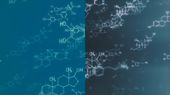 Thumbnail for Chemical Structural Formulas Background Pack HD