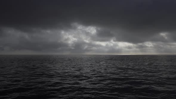 Thumbnail for Dramatic Sky over the Ocean