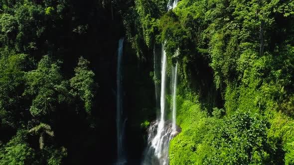 Thumbnail for Wonderful Tropical Waterfall in Bali, Indonesia