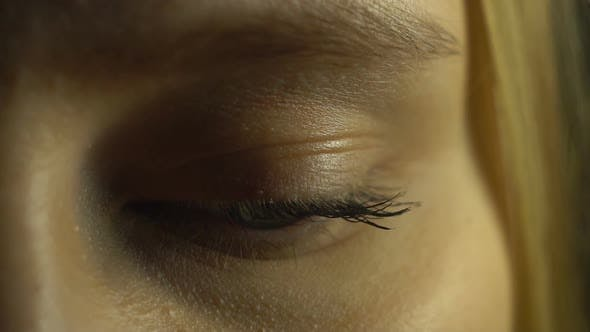 Thumbnail for Young Girl Closeup Eye