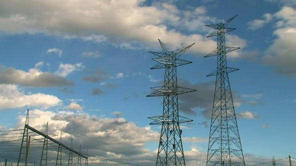 Thumbnail for Electrical Towers with Workers