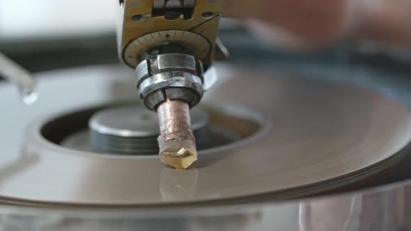 Thumbnail for Diamond on Faceting Machine