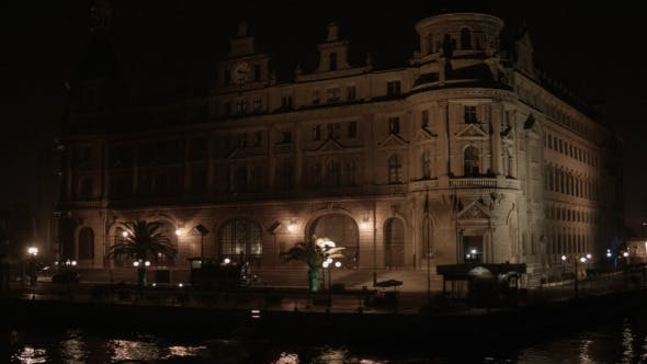 Thumbnail for Haydarpasa Train Station Night Time