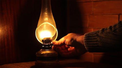 Adjusting the Petrol Lamp Intensity
