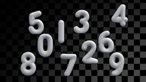 Numéros gonflables