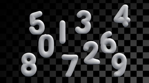 Inflatable Numbers