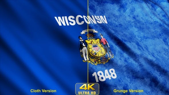 Thumbnail for Wisconsin State Flags