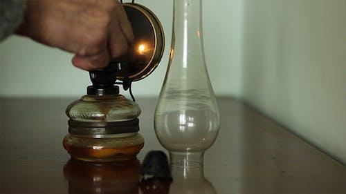 Old Lady Light Petrol Lamp