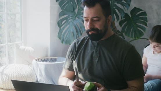 Thumbnail for Man Having Video Call in Bedroom